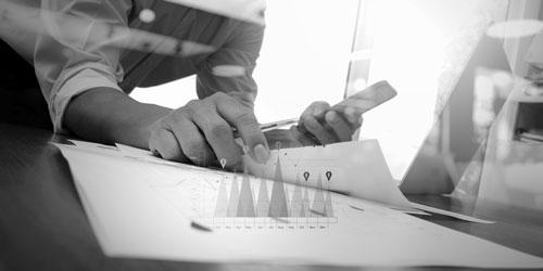 Symbolisches Bild für Qualitätsmanagement, Managementberatung, Prozessoptimierung, Six Sigma, APQP-RGA. Internationale Qualitätsrichtlinien